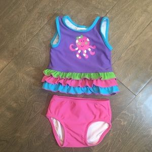 Hanna Anderson Swimsuit Size 60 3-6 Month
